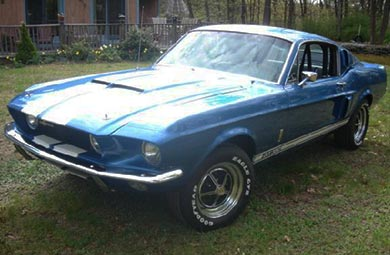 1967 Shelby Mustang GT 350